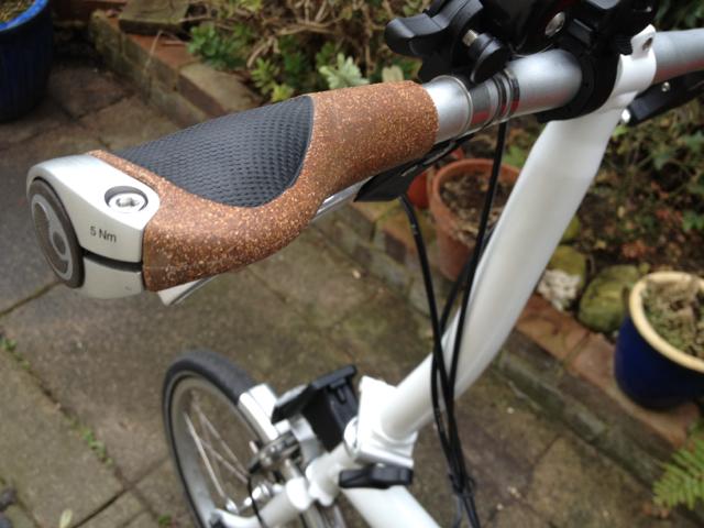 Ergon Gp1 Biokork Grips Bike